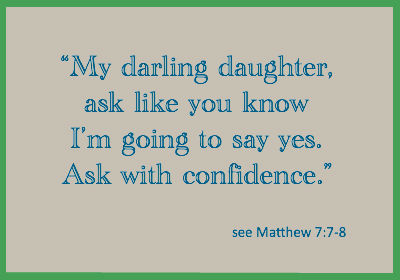 Daughter ask