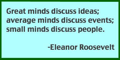 Eleanor Rosevelt